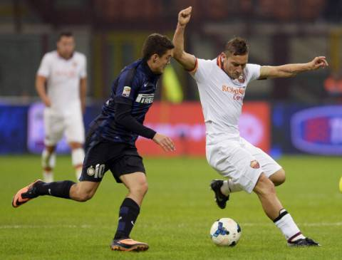 Kovacic e Totti (Getty Images)