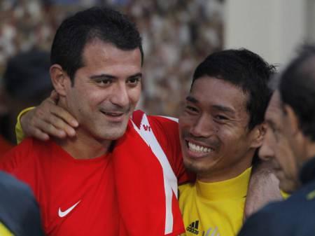 Nagatomo e Stankovic (Getty Images)