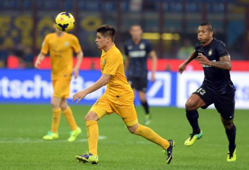 Iturbe in azione (Getty Images)