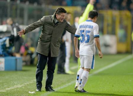 Mazzarri e Nagatomo (Getty Images)