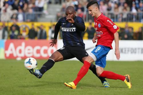 Mudingayi in azione (Inter.it)