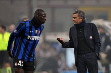 Balotelli e Mourinho