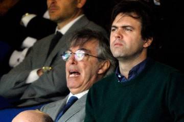 Massimo e Angelomario Moratti (Getty Images)