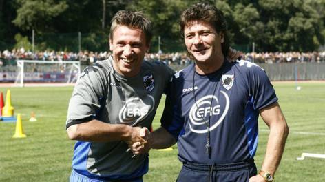 Cassano e Mazzarri (tuttocalciatori.net)