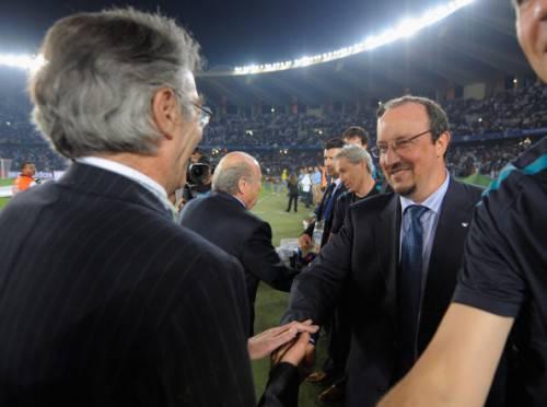 Benitez e Moratti (Getty Images)