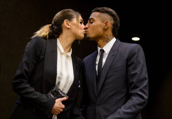 Melissa Satta, Kevin Prince Boateng (Getty Images)