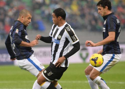 Udinese-Inter 0-3 (Getty Images)
