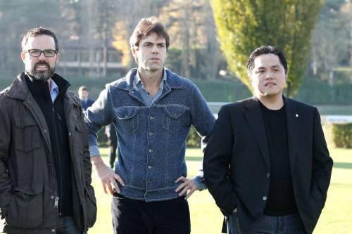 Williamson, Angelomario Moratti e Thohir (Inter.it)