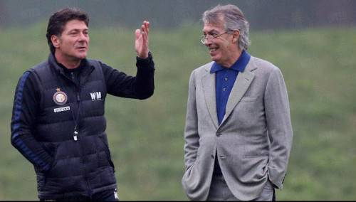 Mazzarri e Moratti (Inter.it)