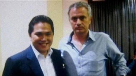 Thohir e Mourinho