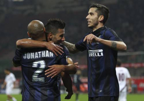 I giocatori dell'Inter (Getty Images)