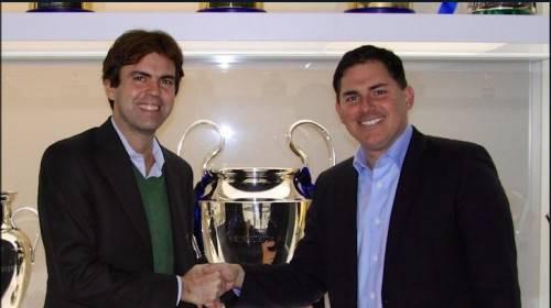 Angelomario Moratti e Jason Levien (Inter.it)
