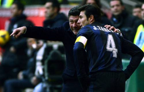 Zanetti e Mazzarri (Getty Images)