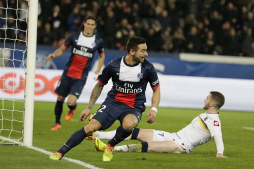 Lavezzi in azione (Getty Images)