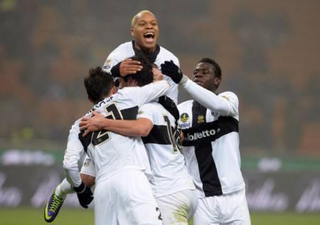 I giocatori del Parma (Getty Images)