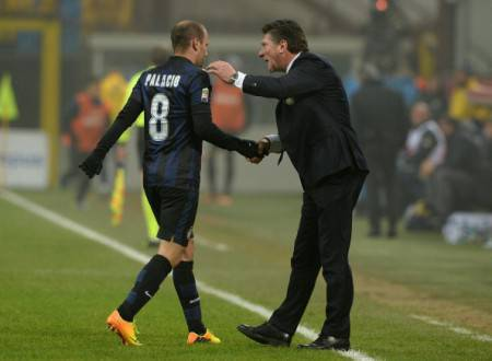 Mazzarri e Palacio (Getty Images)