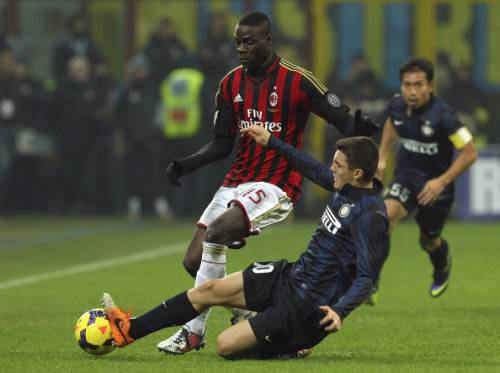 Kovacic contro Balotelli (Getty Images)