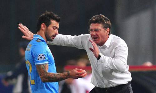 Lavezzi e Mazzarri (Getty Images)