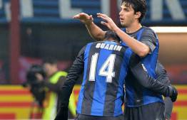 Guarin e Ranocchia - Getty Images
