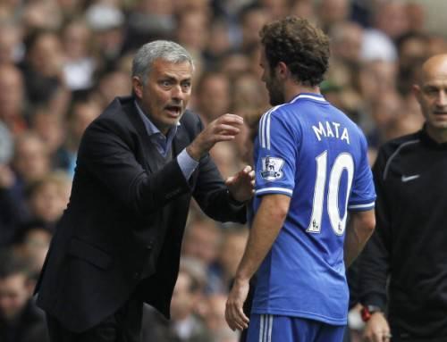 Mata e Mourinho (Getty Images)
