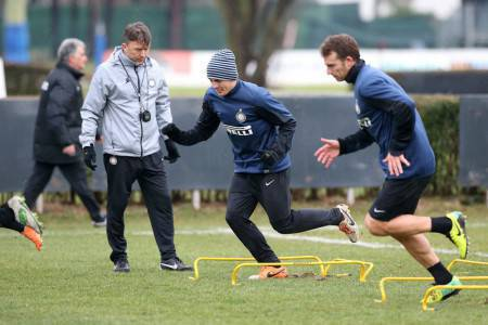 Allenamenti Inter (Inter.it)