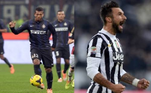 Guarin-Vucinic (Interlive.it)