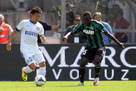Nagatomo e Chibsah - Getty Images