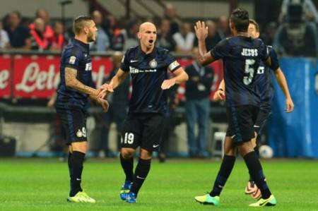 Alcuni giocatori dell'Inter (Getty Images)