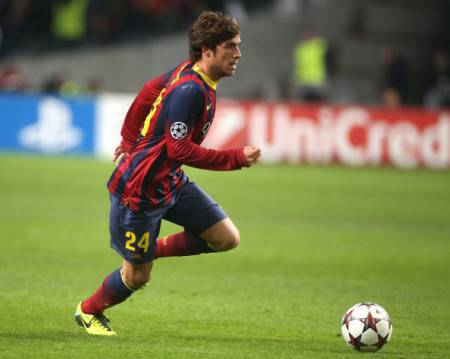 Sergi Roberto in azione (Getty Images)