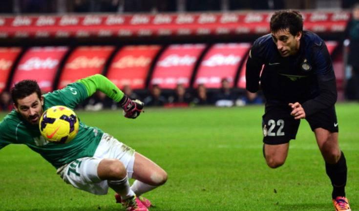 Diego Milito in azione