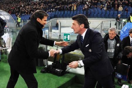 Garcia e Mazzarri (Getty Images)