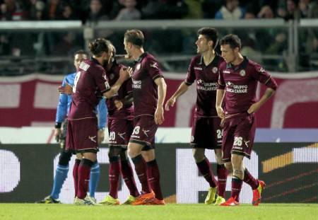 I giocatori del Livorno