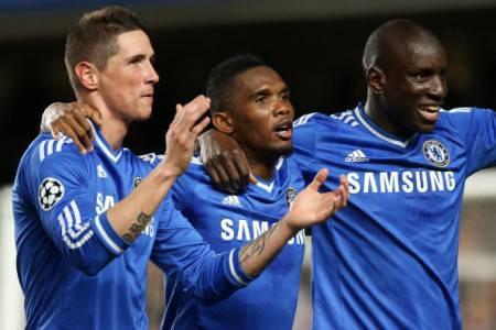 Torres, Eto'o e Demba Ba