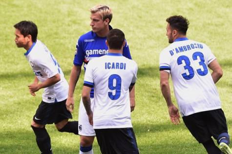 Sampdoria-Inter 0-4