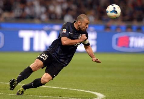 Walter Samuel ai tempi dell'Inter