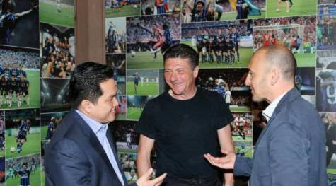 Thohir, Ausilio e Mazzarri (inter.it)