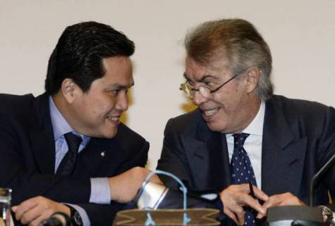 Moratti e Thohir ©Getty Images