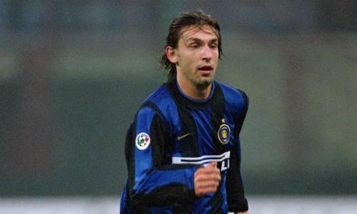 Pirlo con la maglia dell'Inter