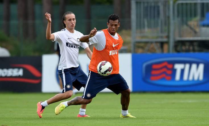 Diego Laxalt e Fredy Guarin (Inter.it)