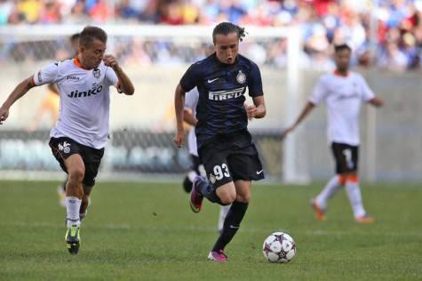 Diego Laxalt con la maglia dell'Inter