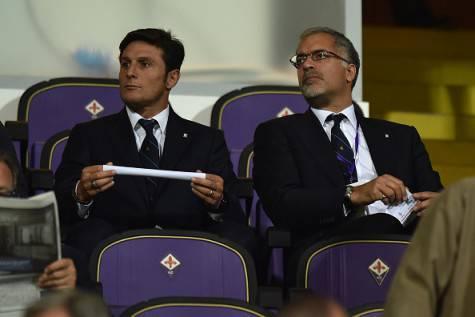 Javier Zanetti con Michael Bolingbroke