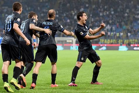 I giocatori dell'Inter