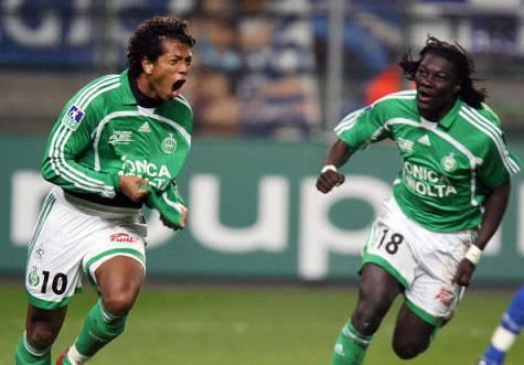 Fredy Guarin ai tempi del Saint-Etienne