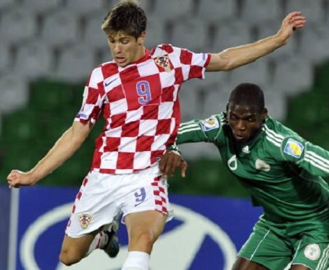 Kramaric con la maglia della Croazia