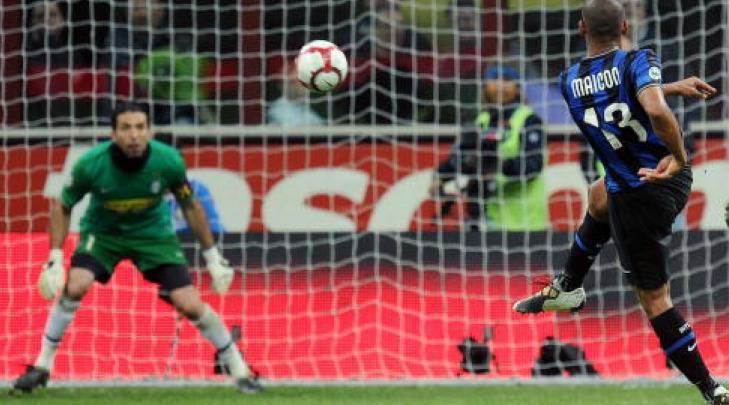 Maicon gol magico alla Juventus
