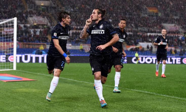 Osvaldo zittisce i tifosi romanisti (Inter.it)
