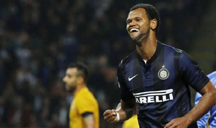 Rolando con la maglia dell'Inter