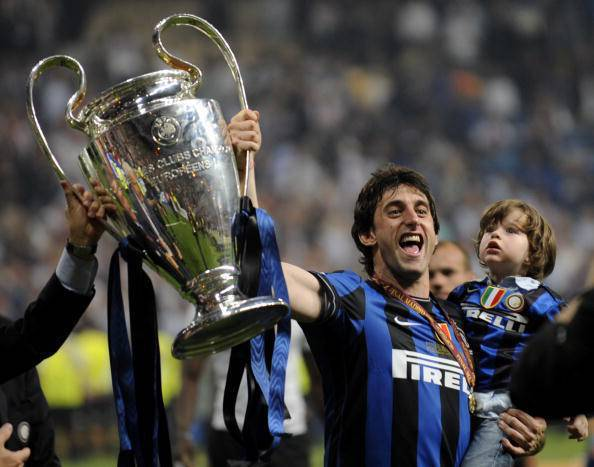 Inter, Milito con la Champions, 22 maggio 2010 (Getty Images)