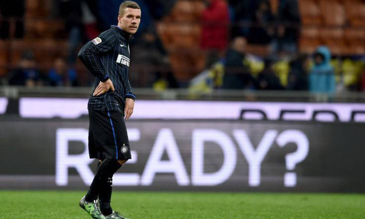 Lukas Podolski, Inter.it