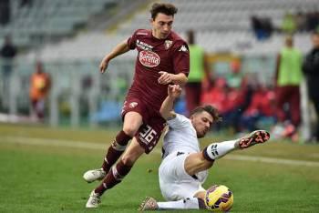 Matteo Darmian in azione